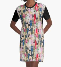 Madonna-A-Thon Graphic T-Shirt Dress