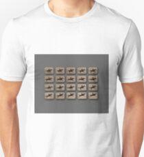 Eadweard Muybridge – 1830-1904 – Locomotion Theory – Horse and Jump – Grey T-Shirt