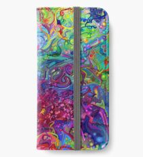 This Page Intentionally Left Blank - Digital Art & Painting iPhone Wallet/Case/Skin
