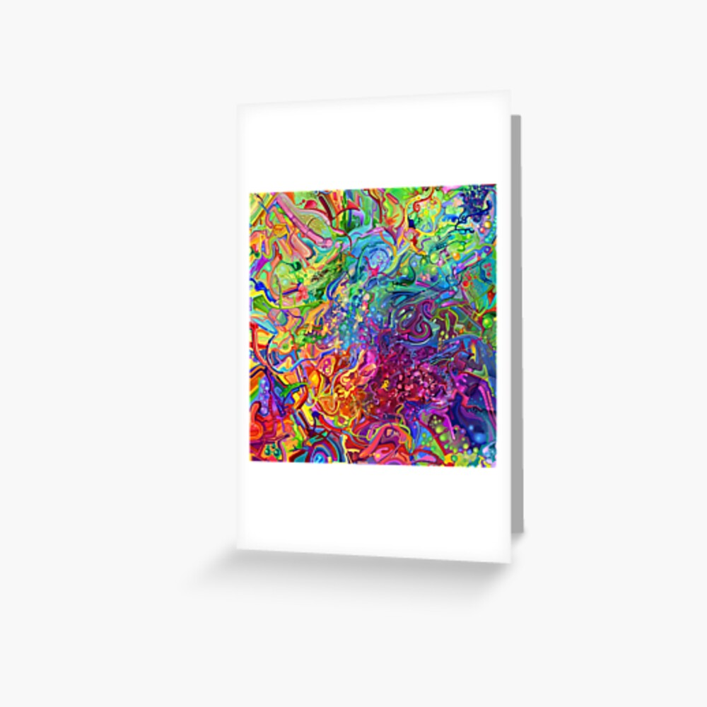 This Page Intentionally Left Blank - Digital Art & Painting Greeting Card