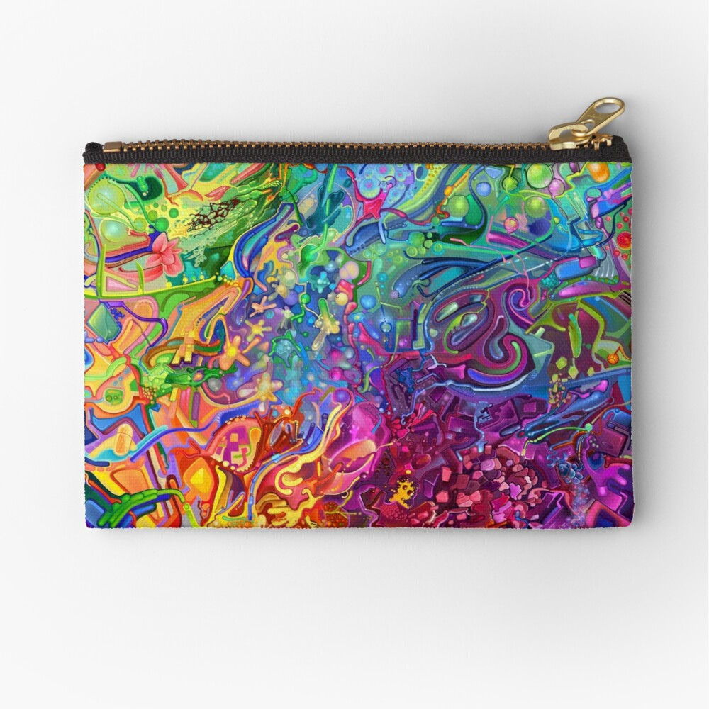 This Page Intentionally Left Blank - Digital Art & Painting Zipper Pouch