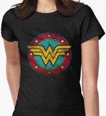W0NDER-W0MAN! Womens Fitted T-Shirt