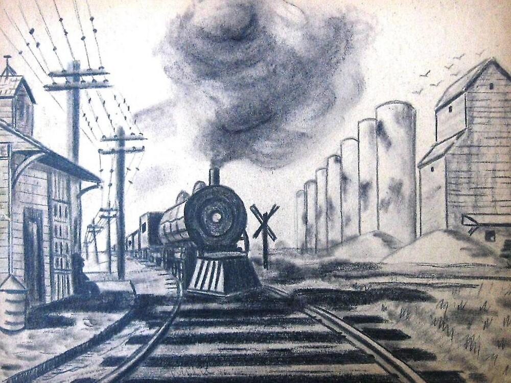 Sugar Cane Train............... by WhiteDove Studio kj gordon