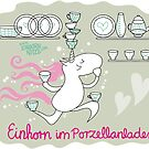 Unicorn in china shop by Kopfzirkus
