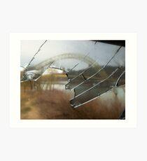 Pittsburgh's West End Bridge  Art Print