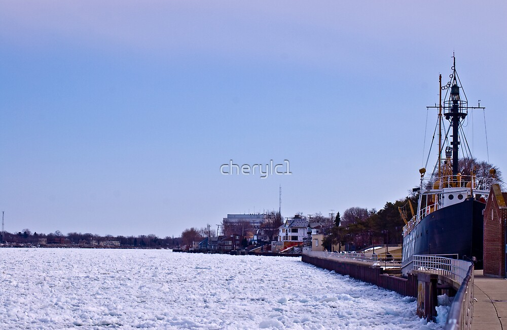 River On Ice by cherylc1