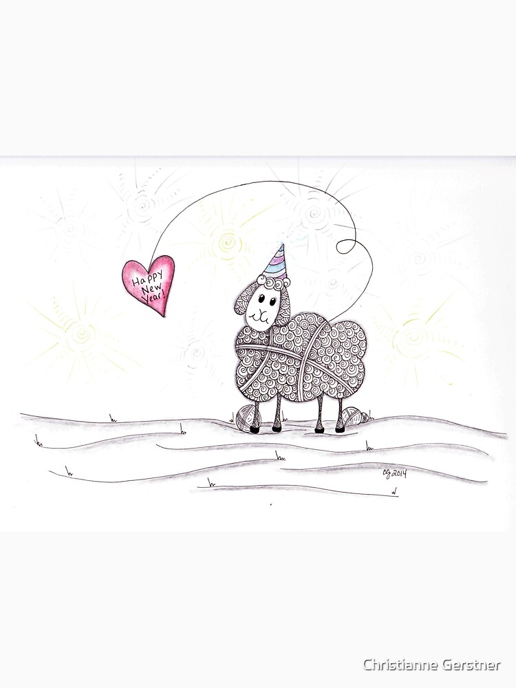 Happy New Year to Ewe by Cgerstner