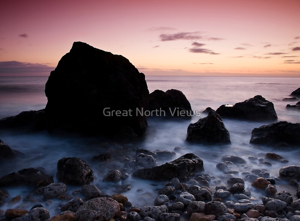 Water And Rocks by Great North Views
