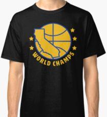 2017 Warriors Five Dubs 5W Championship World Champs Classic T-Shirt
