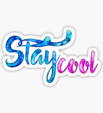 Stay Cool Sticker