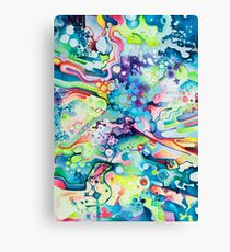 Parts of Reality Were Missing, But Which Parts? - Watercolor Painting Canvas Print