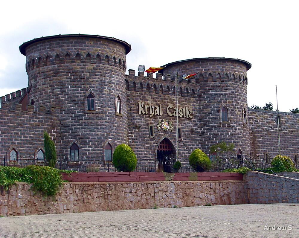 Kryal Castle Circa 1974 ! by Andrew S