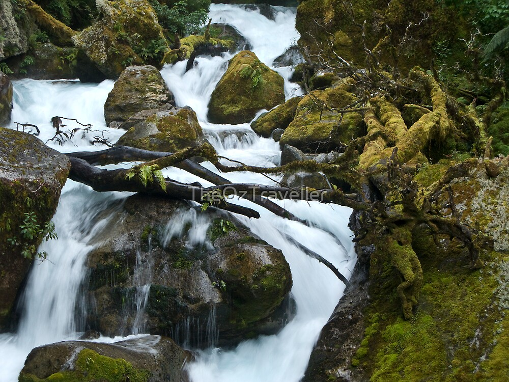 Cascades by TheOzTraveller
