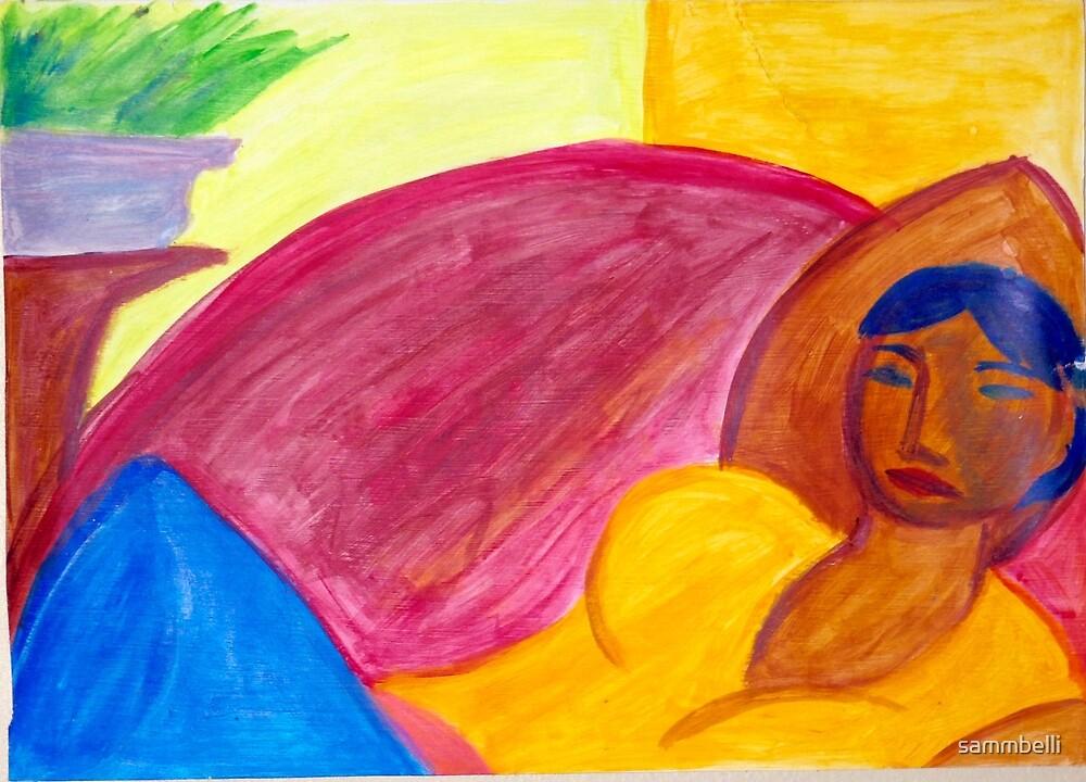 Resting Beauty by sammbelli