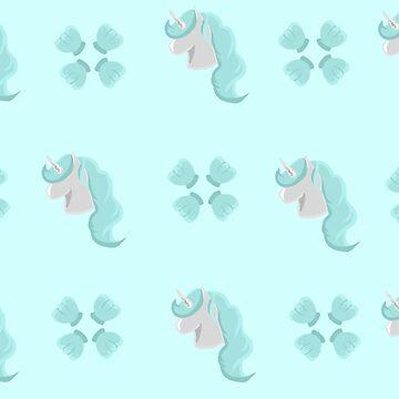 Sea Unicorn by GlassTable