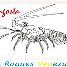 «T SHIRT LOBSTER Venezuela» de losroquesdive