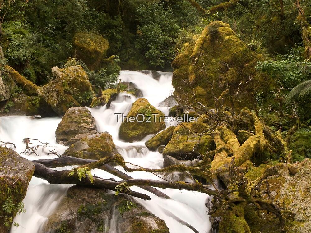 Cascades II by TheOzTraveller