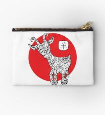 Goat. Symbol of the new year 2015. Studio Pouch