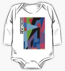 New Order Factus 8 Shirt Joy Division One Piece - Long Sleeve