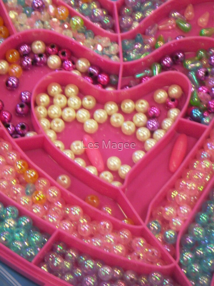 Girlie Heart by Les Magee