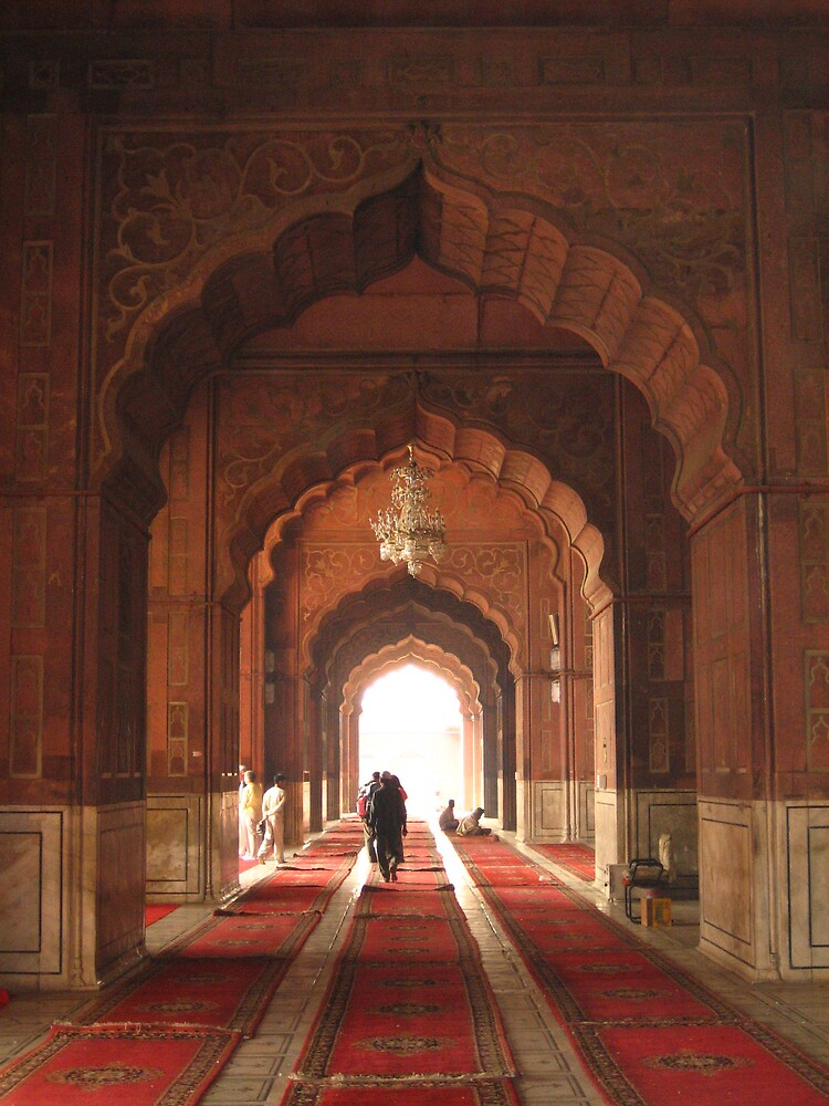 Jama Masjid Mosque, Delhi INDIA by soundmind
