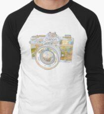 TRAVEL CAN0N Men's Baseball ¾ T-Shirt