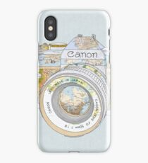 TRAVEL CAN0N iPhone Case/Skin