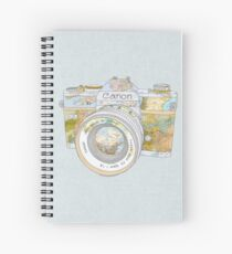 TRAVEL CAN0N Spiral Notebook