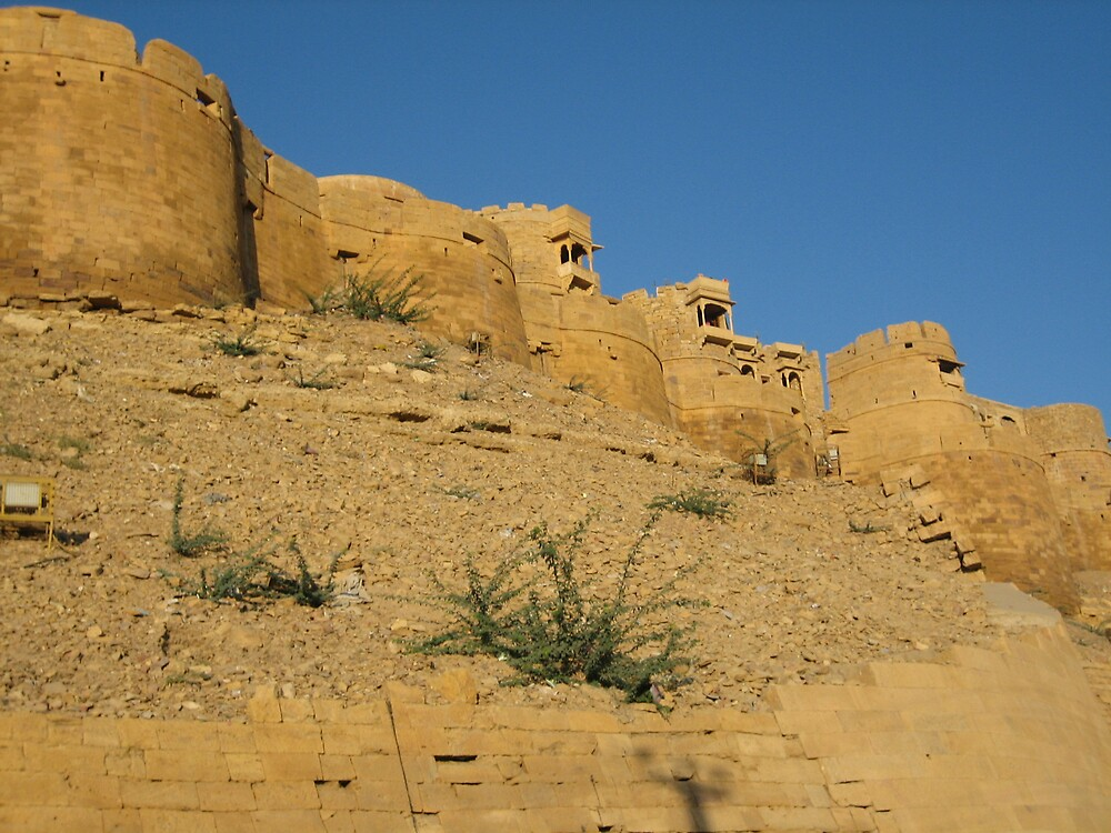 Jaisalmer Fort, Rajasthan, INDIA by soundmind
