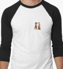 Double vizsla Men's Baseball ¾ T-Shirt