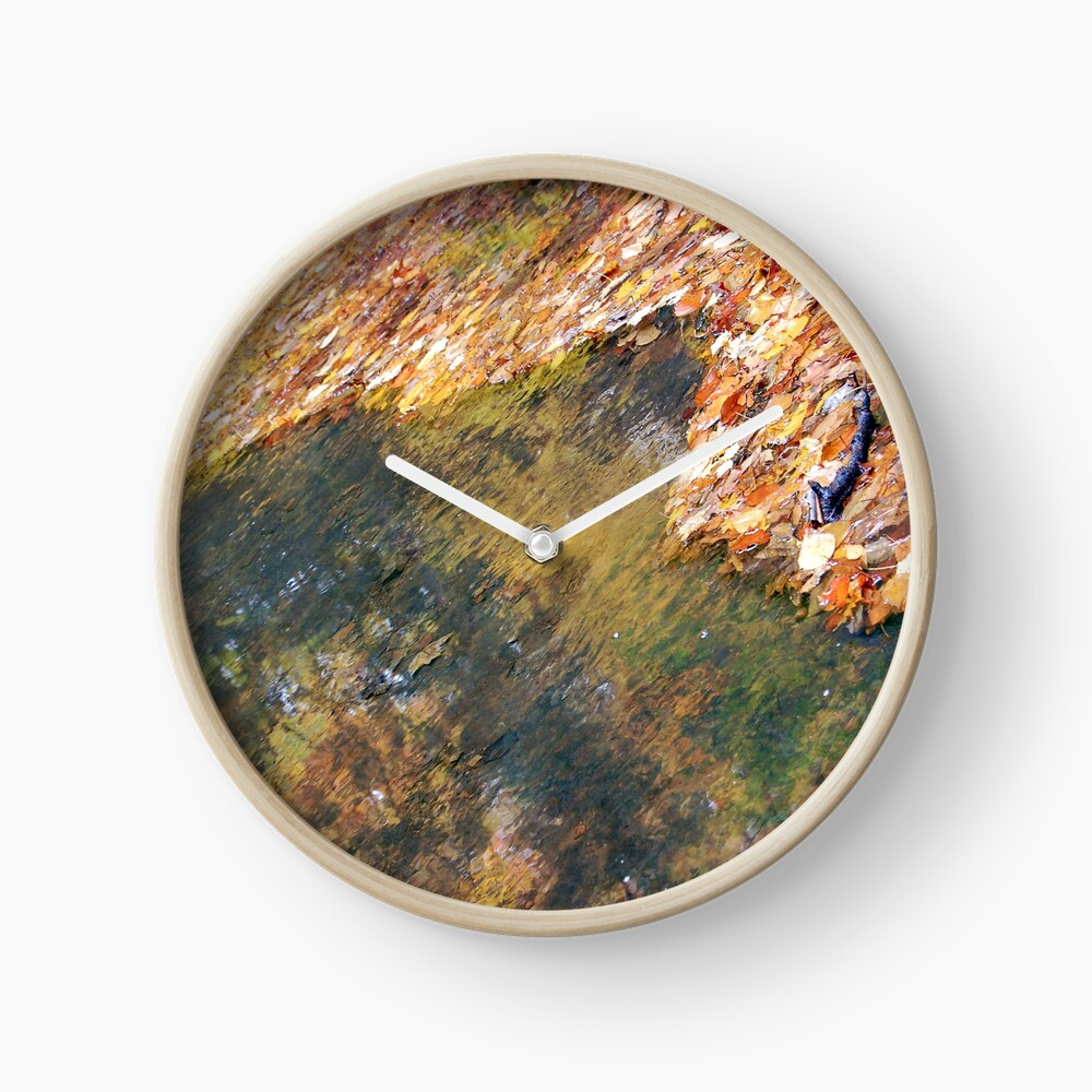 Monet's Mirror Clock