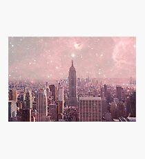 Stardust, der New York bedeckt Fotodruck