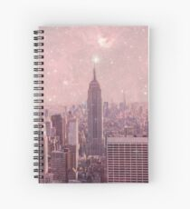 Stardust Covering New York Spiral Notebook