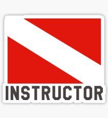 Scuba Diving Instructor Sticker