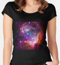 The Wing of the Small Magellanic Cloud  Women's Fitted Scoop T-Shirt