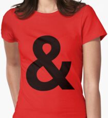 Ampersand Womens Fitted T-Shirt