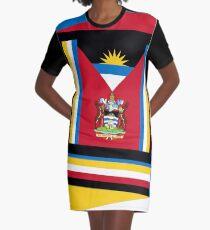 Antigua and Barbuda 2 Graphic T-Shirt Dress