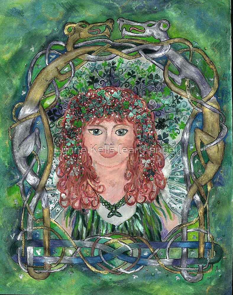 FWC#1 Sheila the Shamrock Fairy by Lynne Kells (earthangel)