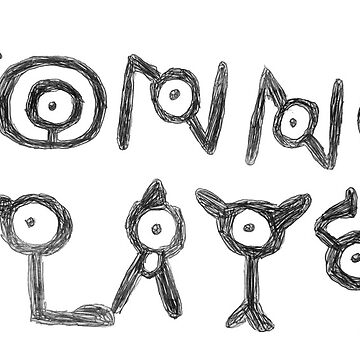 Jonno Plays Unown Fan Art by JonnoPlaysCoC