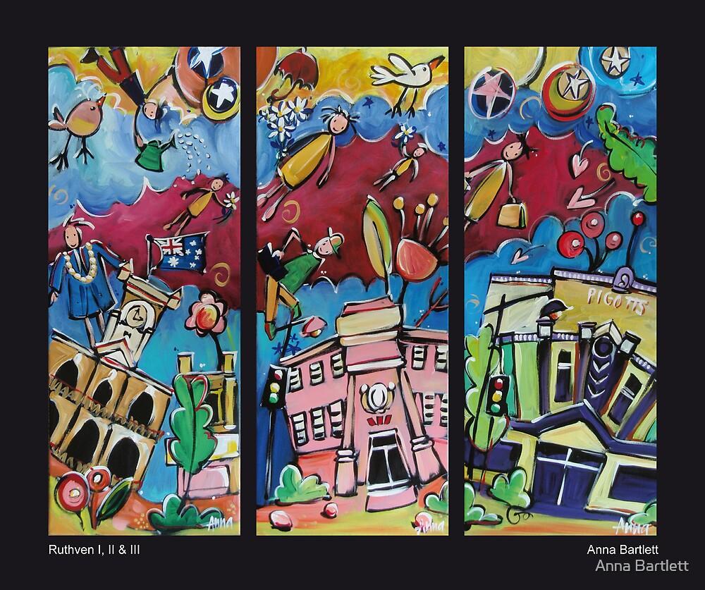 Ruthven Triptych by Anna Bartlett