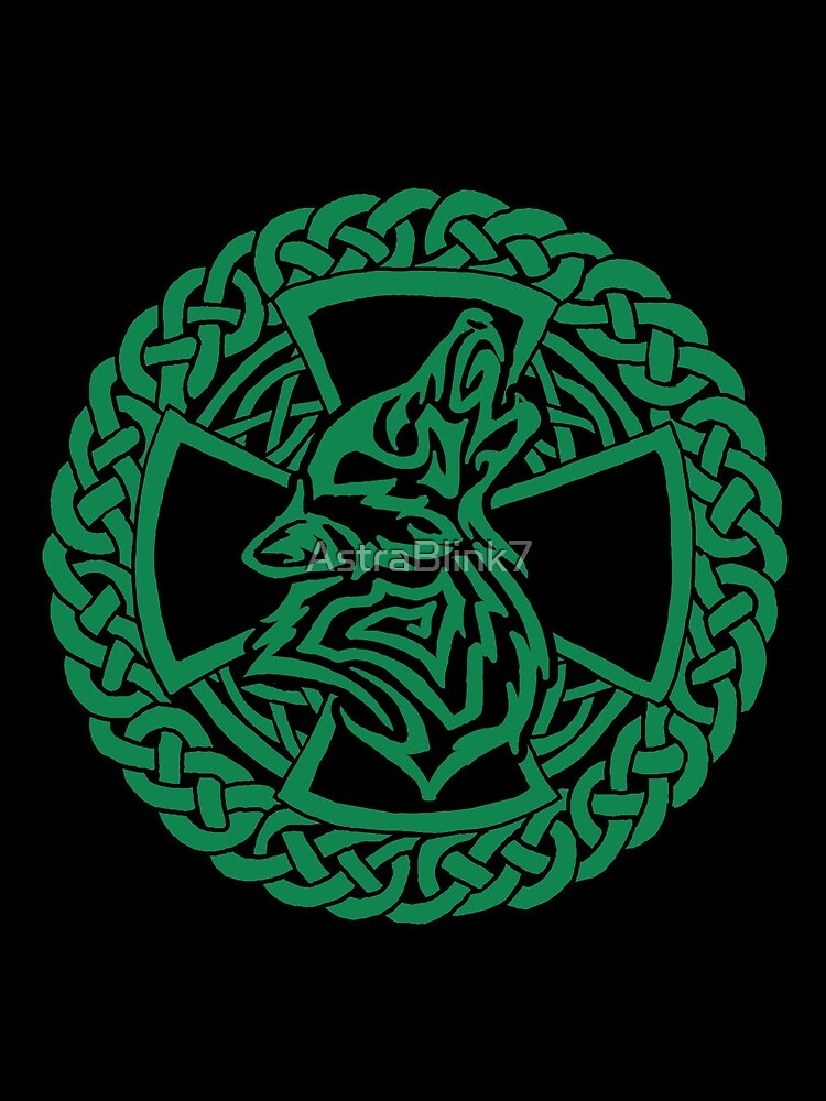 Celtic Wolf by AstraBlink7