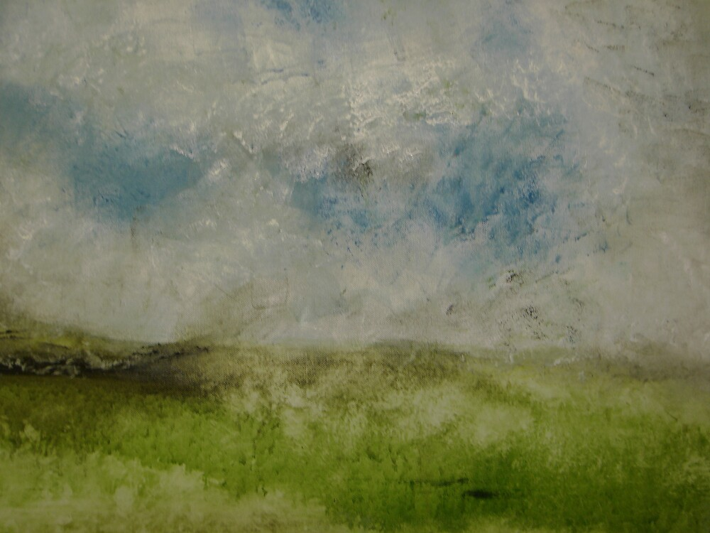 sky over herefordshire hills by matthew hardern
