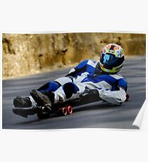 Street Luge  Poster