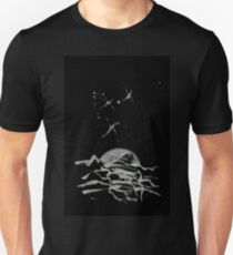 Brush and Ink - 0157 - Sky Fishers Unisex T-Shirt