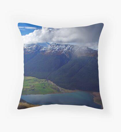 Diamond Storm Throw Pillow