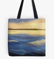 Illumination Ocean Painting Tote Bag