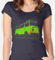 Kombi camper Women's Fitted Scoop T-Shirt