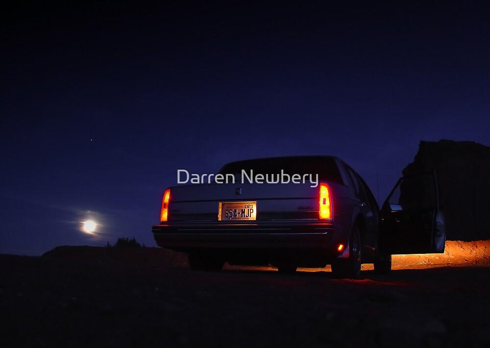 Desert road trip by Darren Newbery