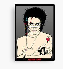 ADAM ANT Canvas Print