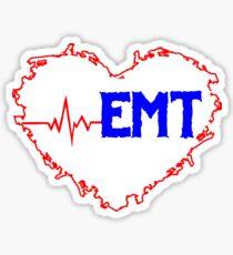 THE HEART BEAT OF AN EMT Sticker